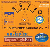 2 Hour Free Parking