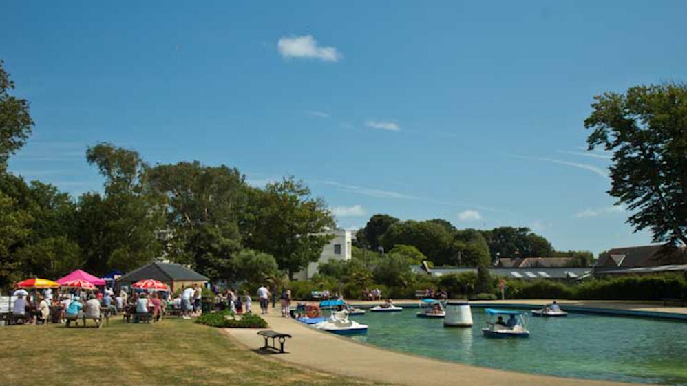 Hotham Park Boating Lake