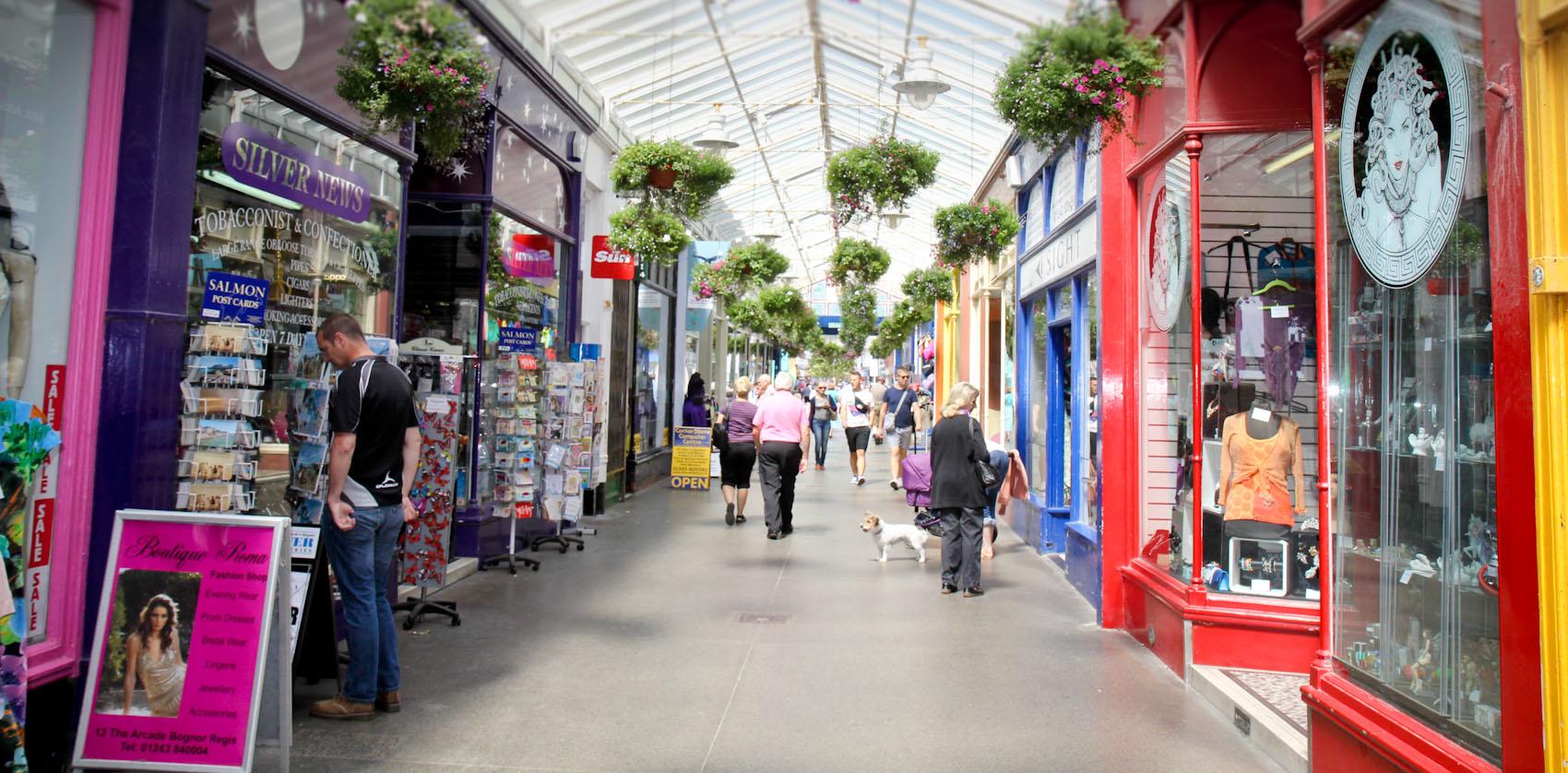 Bognor Regis Shopping Arcade