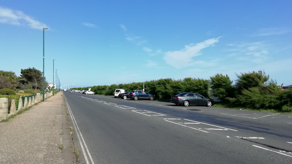 West Beach Parking Area